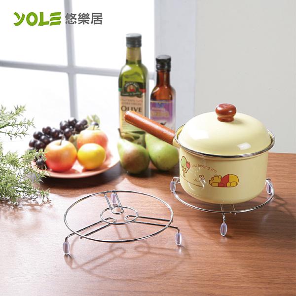 【YOLE悠樂居】鍋具隔熱墊-大(3入)#1134009 鍋墊 餐桌墊