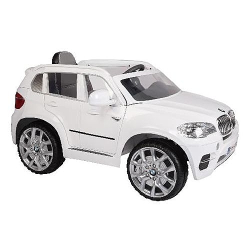 韓國高階版BMW X5 兒童電動車-白色(雙馬達)[衛立兒生活館]