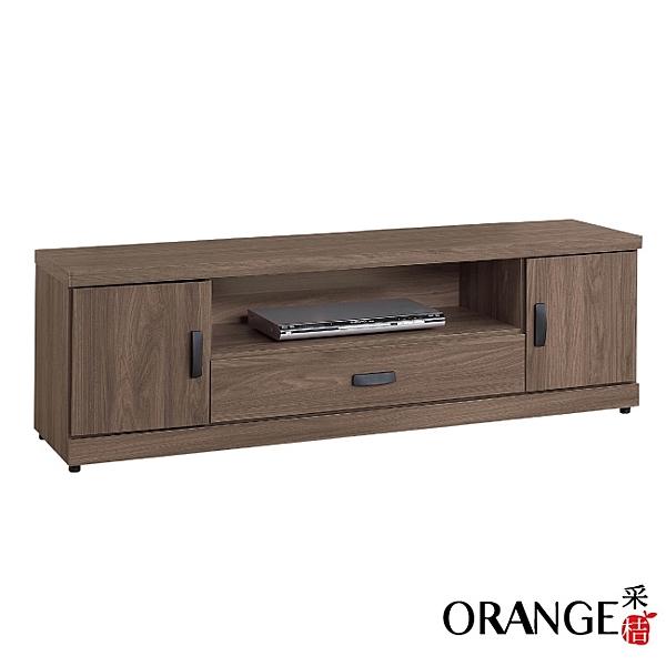 【采桔家居】凱恩斯 時尚4.9尺木紋電視櫃/視聽櫃