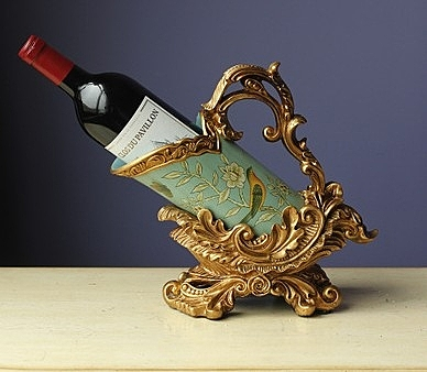 【協貿國際】美式鄉村裝飾擺件擺設紅酒