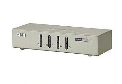新竹【超人3C】含線材 4路 USB 管理4台 宏正 ATEN KVM CS74U 電競 用無線鍵盤滑鼠 喇叭 麥克風 共享