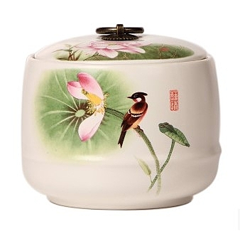 【協貿國際】中式瓷器茶葉罐密封零食儲物罐