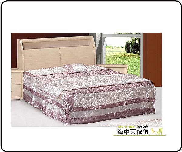 {{ 海中天休閒傢俱廣場 }} J-8 摩登時尚 臥室系列 19-7230A(42) 白橡龍達5尺床頭箱床