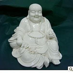 6寸彌勒佛陶瓷