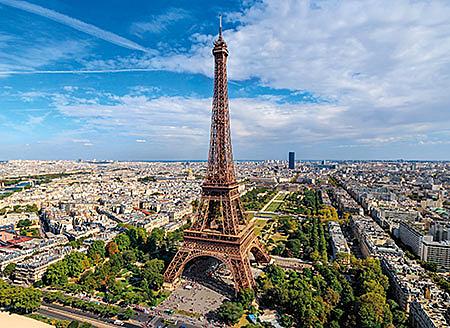 巴黎鐵塔  /1000P/Clementoni/VR系列/旅行