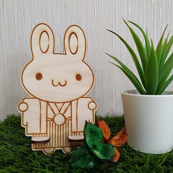 兩件式名片架 手機座【兔兔boy】