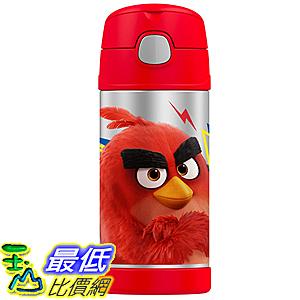 [美國直購] Thermos F4016AB6 Funtainer 12 Ounce Bottle, Angry Birds 兒童保溫水壺