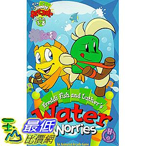 [106美國暢銷兒童軟體] Freddi Fish and Luther s Water Worries - PC