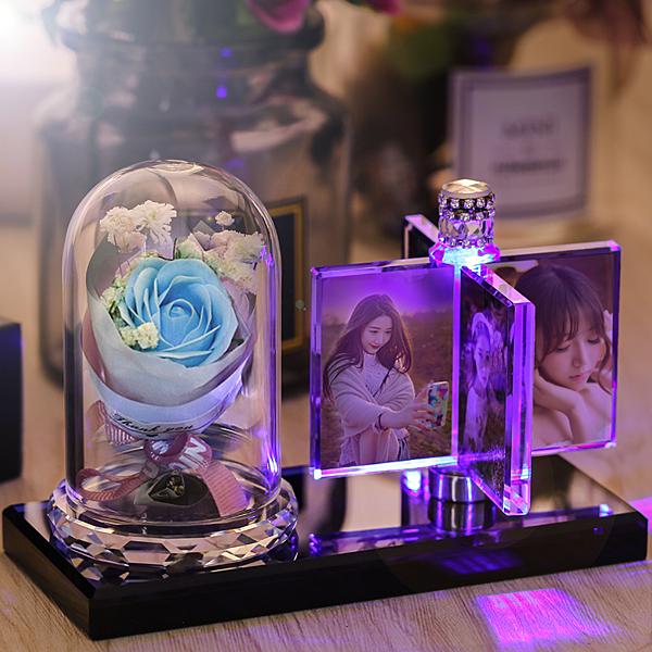 限定款七夕情人節禮物 免費訂製照片送女生女朋友老婆生日禮物免運