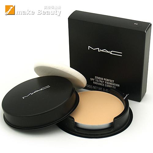 M.A.C 超持妝無瑕粉餅蕊SPF15PA+(13g)(附粉撲)[4色]《jmake Beauty 就愛水》