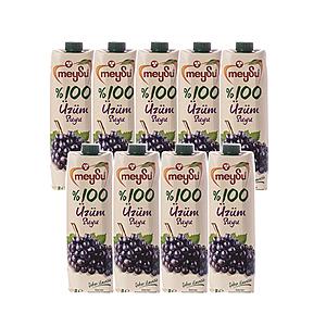 (組)土耳其meysu 100%葡萄汁1L 9入組