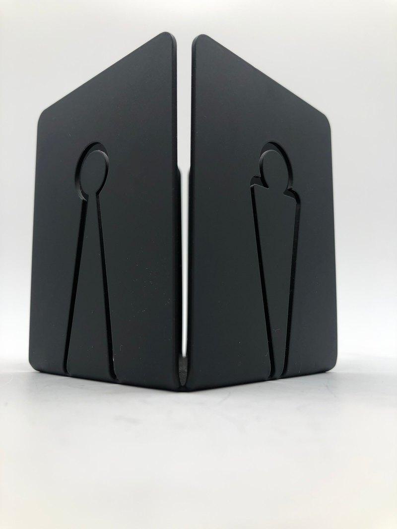 黑設計 小金人筆筒 304不鏽鋼製
