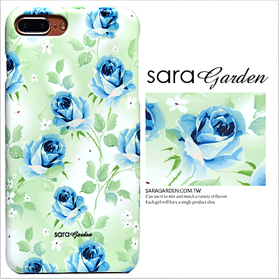 客製化 手機殼 iPhone 8 7 X 6 6S Plus 5 5S SE 保護殼 漸層玫瑰碎花