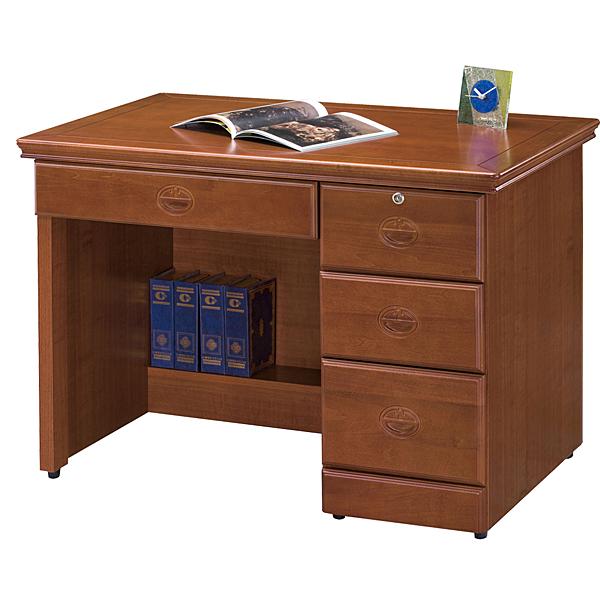 書桌 長榮樟木3.5尺書桌【時尚屋】UZ5免運費/免組裝/書桌/電腦桌/工作桌/桌子/辦公桌