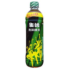 ●生活泡沫綠茶590ml-1箱【合迷雅好物超級商城】