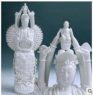 18寸千手觀音菩薩佛像 陶瓷  佛教