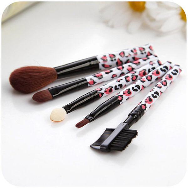 彩妝   專業化妝刷五件套眉筆  【FMD020】-收納女王