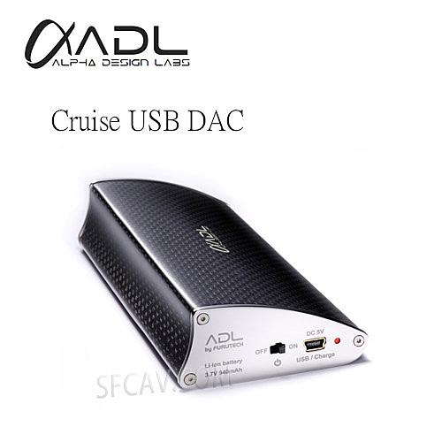 【勝豐群竹北音響】Furutech 古河 ADL Cruise USB DAC 攜帶式 耳機擴大機