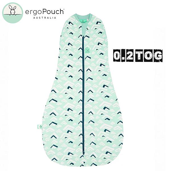 【愛吾兒】澳洲 ErgoPouch ergoCocoon 二合一舒眠包巾 0.2TOG 浪花綠