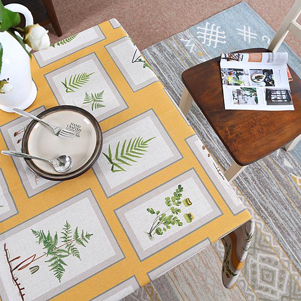 時尚可愛空間餐桌布 茶几布 蓋布5 (100*145cm)
