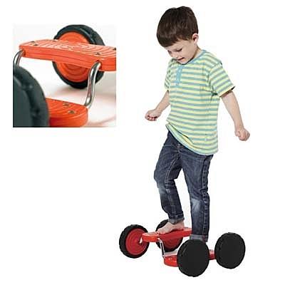 【華森葳兒童教玩具】感覺統合-跑跑滑板 (無扶手) B2-2138