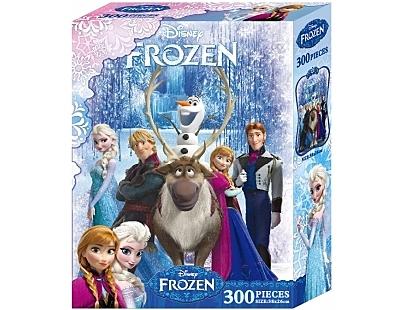 【台灣製】盒裝拼圖-冰雪奇緣(300片) #QFQ08A
