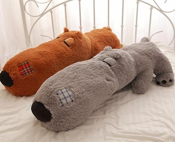 【140公分】倒楣熊 暴力熊 欠揍熊 長條抱枕 公仔玩偶絨毛玩具 生日禮物 睡覺枕 聖誕節交換禮物