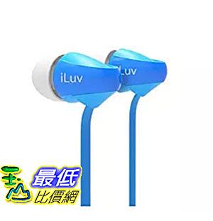 [美國直購] iLuv PEPPERMINTBU Peppermint Headphones, Blue 耳機