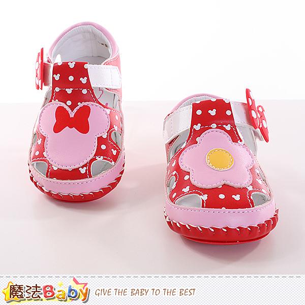 寶寶鞋 專櫃款迪士尼米妮寶寶外出鞋 魔法Baby