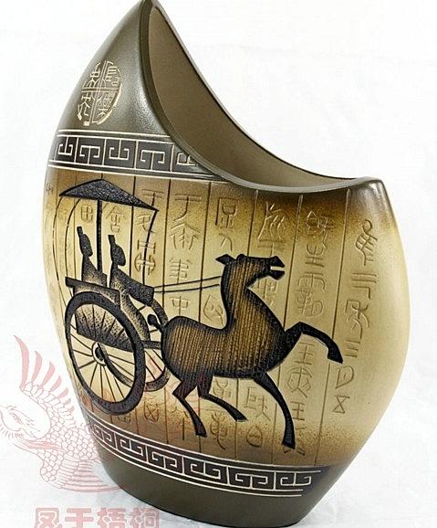 【協貿國際】中式中國風手工創意客廳辦公室陶藝