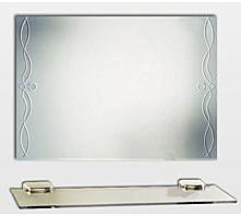 【麗室衛浴】化妝鏡 LS-721 晶雕藝術明鏡  防霧 700*500mm