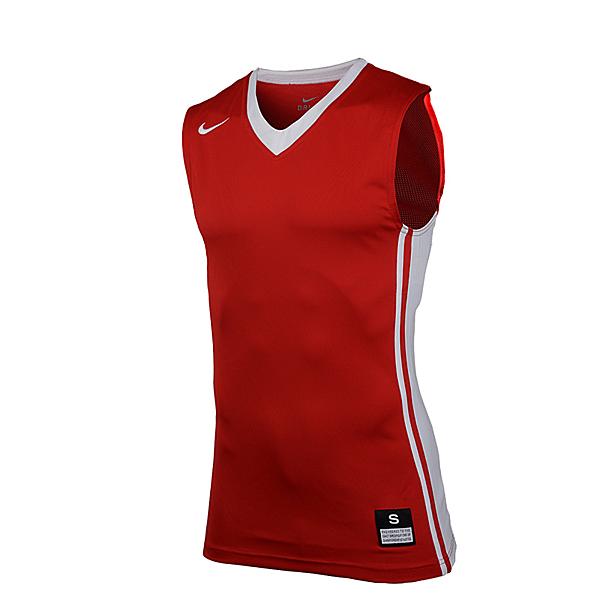 NIKE AS M NATIONAL VARSITY 男裝 背心 上衣 球衣 籃球 紅【運動世界】639395-658