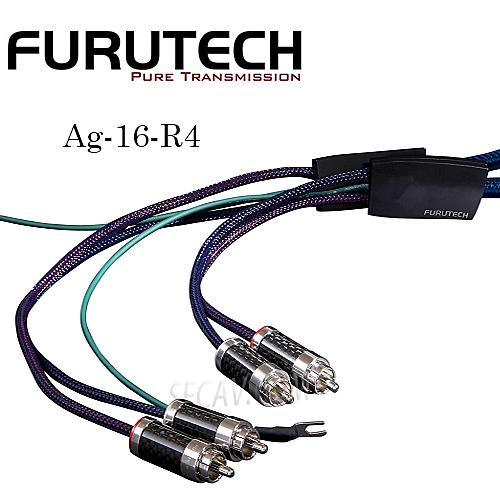 【竹北勝豐群音響】Furutech Ag-16-R4  黑膠唱盤訊號線 1.1m