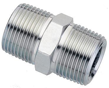 油壓內卜 3/4PT*3/4PT 油壓接頭 鐵接頭 鐵雙外牙 油管