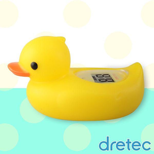 【日本DRETEC】呱呱鴨可浮式湯溫計-黃色