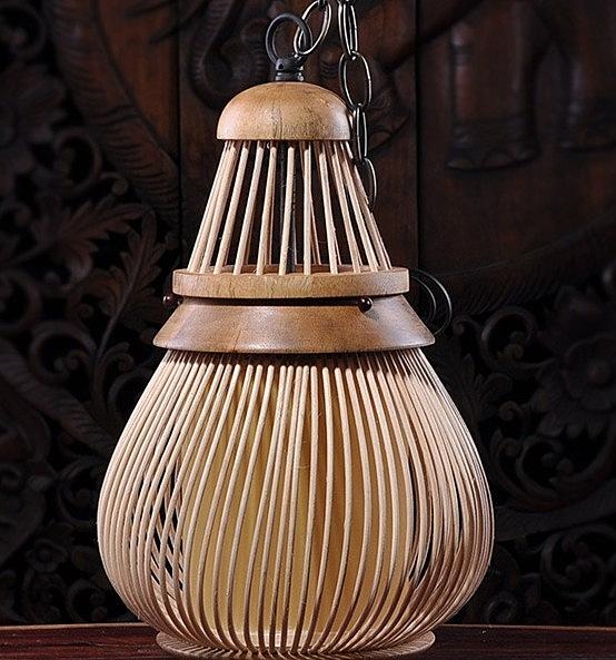 【協貿國際】木製吊燈酒店酒吧走廊庭院創意裝飾吊燈