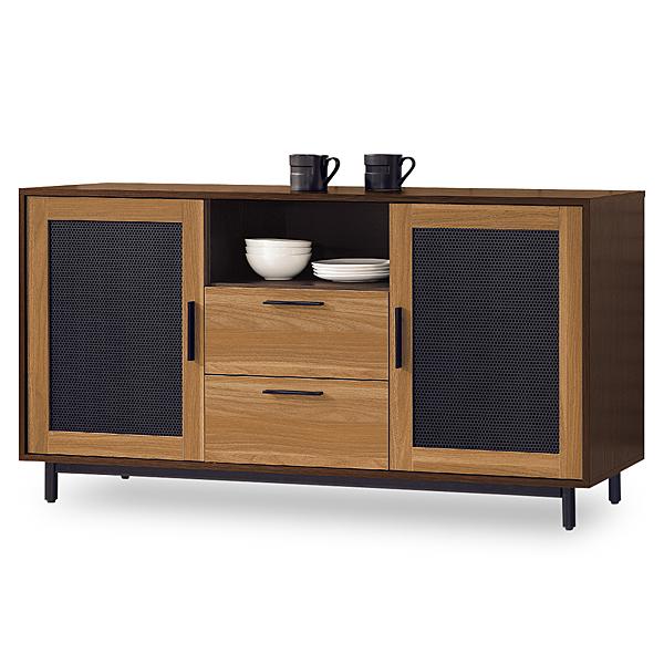 【時尚屋】[MT7]卡爾頓5尺碗碟櫃MT7-715-2免組裝/免運費/碗碟櫃