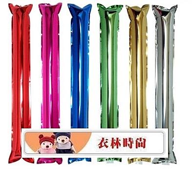 [衣林時尚] 鋁箔款加油棒 充氣棒 活動棒 拉拉棒 60x10cm 報價為1組2根價格