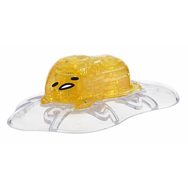 《 3D Ctystal Galley 》3D水晶拼圖 - 蛋黃哥 / JOYBUS玩具百貨