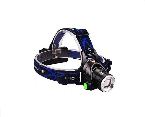 BGOL2頭燈 JX2092 LED 強光頭燈 伸縮變焦充電遠射防水垂釣頭燈批發雙鋰電 三段模式