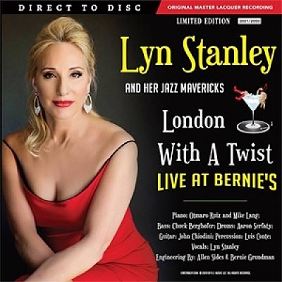 【停看聽音響唱片】【黑膠LP】琳恩.史丹利:與茱莉倫敦共舞—博尼錄音室現場錄音 (180克 2LPs)