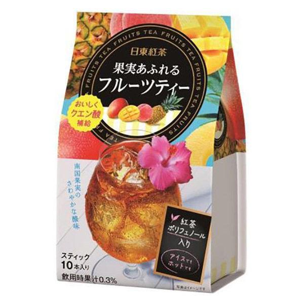 日東紅茶 熱帶風味水果茶 10入 即溶 P406100