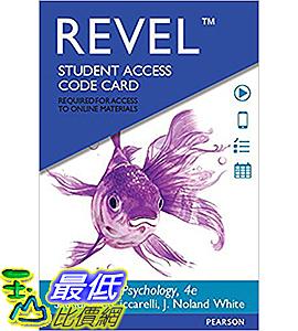 [106美國直購] 2017美國暢銷軟體 REVEL for Psychology -- Access Card (4th Edition)