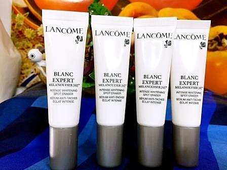 LANCOME 蘭蔻 激光煥白淨斑精華30ML =10ml x 3 瓶 全球第一瓶能夠修正膚色的精華,瞬間白裡透紅