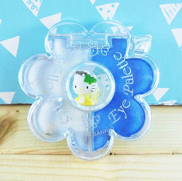 【震撼精品百貨】Hello Kitty 凱蒂貓~2色眼影組-藍白