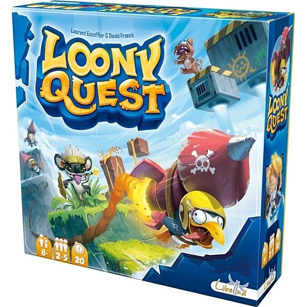 【玩樂小子】Loony Quest 怪物仙境: 塗鴉任務 桌上遊戲