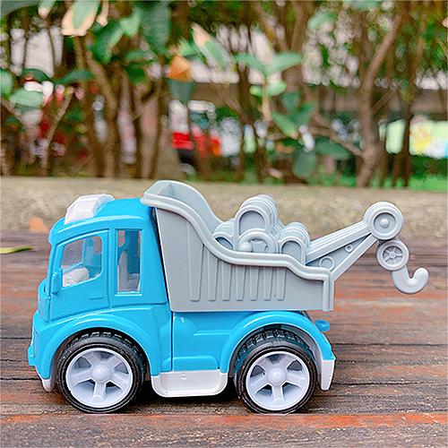 《 小BuBu 》小BuBu合金車-交通救援王-拖吊車╭★ JOYBUS玩具百貨