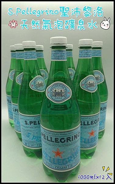 氣泡水 S.Pellegrino聖沛黎洛 天然氣泡礦泉水 1000mlx12入   限宅配 義大利進口 水 礦泉水