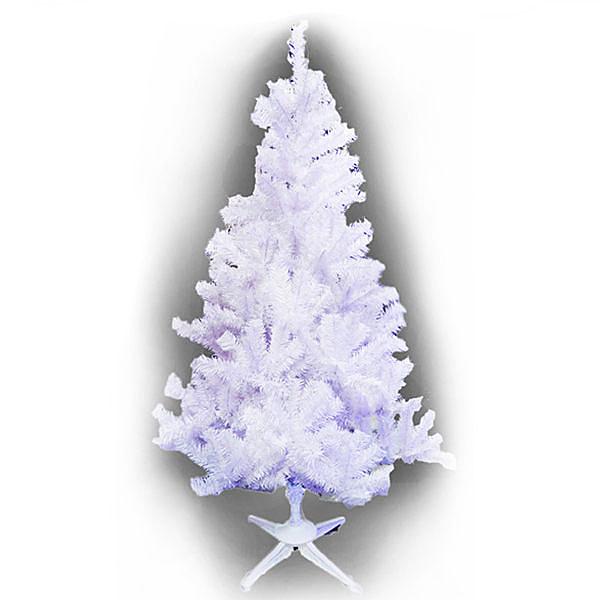 【摩達客】台製豪華型5尺/5呎(150cm)夢幻白色聖誕樹 裸樹(不含飾品不含燈)