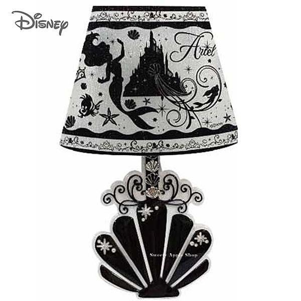 日本限定 迪士尼  小美人魚 貝殼版   LED 裝飾感應 壁貼燈飾
